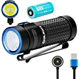 Olight S1R II 1000 Lumens High Performance CW LED Single IMR16340 Powered Upgraded Magnetic USB Rechargeable Side-switch EDC