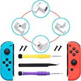 [New Version] Latches for Nintendo Switch Joy-Con,Lock Buckles Repair Tool Kit for Switch Joy-Cons with Screwdrivers and Twee