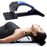 Neck Stretcher for Neck Pain Relief, Upper Back and Shoulder Relaxer for Muscle Relax and Spine Alignment, Cervical Traction
