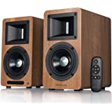 Airpulse A80 Hi-Res Audio Certified Active Speaker System, Built-in Amplifier, Optical, Sub Out, Bluetooth 5.0 aptX, AUX, PC,