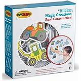 Edushape Magic Creations Bath Play Set, Construction Vehicles