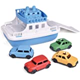 Toy Boat Bath Toys for Toddlers with 4 Cars Toys, Water Toys Educational Toys