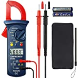 AstroAI Digital Clamp Meter, Multimeter Volt Meter with Auto Ranging; Measures Voltage Tester, AC Current, Resistance, Contin