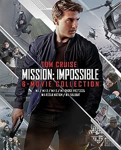 ミッション:インポッシブル 6ムービー・ブルーレイ・コレクション(初回限定生産)ボーナスブルーレイ付き 7枚組 [Blu-ray]