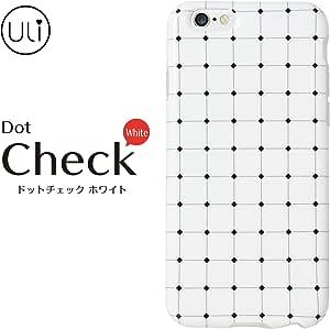 &y アンディ ULI iPhone 6 6s 対応 4.7インチ ソフト TPU ケース 光沢タイプ ドッドチェック ホワイト (ULI003)
