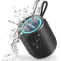 SOWO Bluetooth スピーカー 防水 IPX7 小型 お風呂 ワイヤレススピーカー ポータブルすぴーかー ブル…