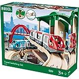 Brio BRI33512 Travel Switching Set, 42 Pieces Train Set