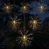 Salcar イルミネーションライト ストリングライト 電飾 ロマンチック雰囲気 防水 8点灯モード 2.5M 720球 花火形状 クリスマス ハロウィーン パーティー用 【1年間の安心保証】