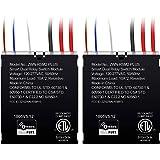 ENERWAVE ZWN-RSM2-PLUS Z-Wave Plus Dual Relay Switch Module, Z-Wave Relay, Hidden Smart Switch, In-Wall Micro Switch, NEUTRAL