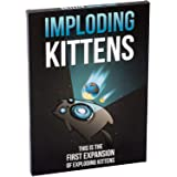 Imploding Kittens: This is The First Expansion of Exploding Kittens Card Game - Family Card Game - Card Games for Adults, Tee