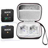 LuckyNV Portable Carrying Case for Rode Wireless Go - Compact Wireless Microphone System, Transmitter Receiver