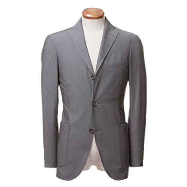 Ruggero Rossi Cotton Jacket BYJ-05: Grey