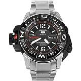 セイコー Seiko Men's SKZ229K1 Black Dial Seiko 5 Watch 男性 メンズ 腕時計 [並行輸入品]