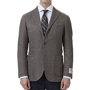 Birdseye New Baloon Wool Jacket BYJ-05: Brown