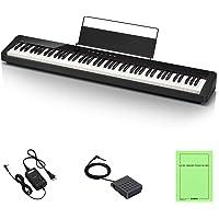 カシオ(CASIO) Privia PX-S1000BK(ブラック) 88鍵盤 電子ピアノ デザイン性と高いピアノ性能で…