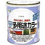 アサヒペン 水性多用途カラー 1.6L ツヤ消し白
