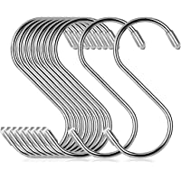 S字フック Sじフック ステンレス 10個セット (8cm×10pcs) COM4SPORT 耐荷重15kg 汎用フック…