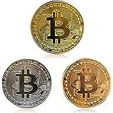 Bitcoin系列 3片裝 紀念硬幣 假想通貨贈品 Art collek
