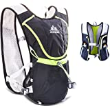 TRIWONDER Hydration Pack Backpack Professional 8L Outdoors Trail Marathoner Running Hydration Vest Cycling Backpack