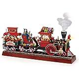 Mr. Christmas Animated Musical Santa's Express with Working Smokestack