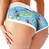 TSUTAYA Women Yoga Shorts Ruched Butt Sport Gym Scrunch Ruched Running Workout Fitness Active Butt Lifting Shorts