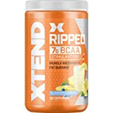 XTEND Ripped BCAA Powder Blueberry Lemonade - Cutting Formula + Sugar Free Post Workout Muscle Recovery Drink with Amino Acid