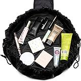 Drawstring Makeup Bag for Women Girls - Drawstring Make Up Bag, Makeup Organiser Bag, Travel Makeup Bag, Maiden Makeup Bag, M