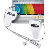 Body Tape Measure - (2 Pack) Measuring Tapes for Body and Fat Weight Monitors, (Inches & cm) Retractable Tape Measure Ruler f