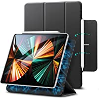 ESR iPad Pro 12.9 ケース 第五世代 5G 2021年モデル 磁気吸着 Apple Pencilのペアリ…