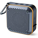 【改善版】 XIKE Bluetooth スピーカー IPX7防水規格 microSDカード & FMラジオ機能 TWS対応 車載12時間連続再生 風呂用 内蔵マイク搭載 完全ワイヤレスステレオ対応 強化された低音 USB充電 AUXケープルポート