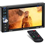 BOSS Audio BV9358B Double Din, Touchscreen, Bluetooth, DVD/CD/MP3/USB/SD AM/FM Car Stereo, 6.2 Inch Digital LCD Monitor, Wire