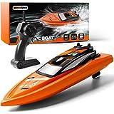 Gizmovine Remote Control Boats Orange