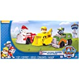 Nickelodeon, Paw Patrol - Rescue Racers 3pk Vehicle Set Marshal Rubble, Rocky by Paw Patrol [並行輸入品]