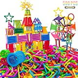 Lee Joseph Building Construction Toy 500 PCS Creative Plastic Engineering Toys 3D Puzzle Interlocking Creative Connecting Kit