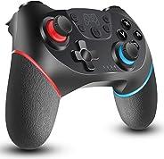 Switch コントローラー [2020最新] 無線 HD振動 小型6軸ジャイロセンサー搭載 スイッチコントローラーTURBO連射機能付き ジャイロセンサー Bluetooth接続 任天堂 スイッチの全てシステムに対応 任天堂 Nintendo Sw