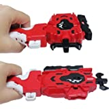Beyblades Launcher and Grip , Battling Burst String Launcher Gyro Light Sparking Left&Right LR Spin Top Compatible with All B