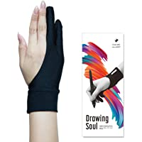 DrawingSoul ワコム監修 液タブ用二本指グローブ Sサイズ