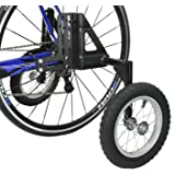 "CyclingDeal Adjustable Adult Bicycle Bike Stabilizers Training Wheels Fits 20"" to 29"" - Heavy Duty"