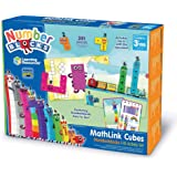 Learning Resources LSP0949-UK Numberblocks MathLink Cubes 1-10 Activity Set, Early Years Maths Learning, Build, Learn & Play
