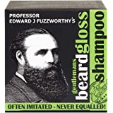 Professor Fuzzworthy's Apple Tonic Beard SHAMPOO Bar - Light Refreshing Scent - 100% Natural Premium Ingredients | Promotes H