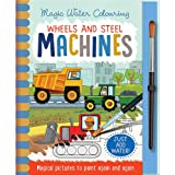 Wheels and Steel Machines - Magic Water Colouring
