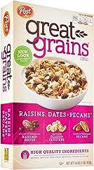 Post Great Grains Raisins, Dates and Pecan, 453g
