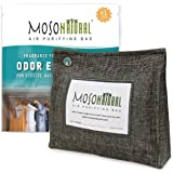 MOSO NATURAL: The Original Air Purifying Bag. 300g Stand Up Design. for Closets, Bathrooms, Pet Areas. an Unscented, Chemical