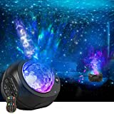 Star Night Lights Projector, HueLiv 3 in 1 Galaxy Light Projector, Sky Nebula/Moving Ocean Wave, Best Gift for Kids Adults fo