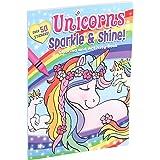 Unicorns Sparkle Shine! Coloring and Activity Book