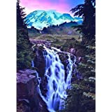 DIY Diamond Painting for Adult Full Square Drill Paint with Diamonds Kits 5D Diamond Art for Wall Decor Waterfall 11.8X15.7in