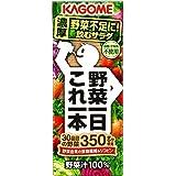 カゴメ 野菜一日 これ一本 200ml(24本×3ケース)72本