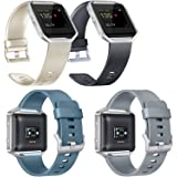 Vancle Bands Compatible with Fitbit Blaze, 4 Pack