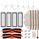 Accessories Kit for Roborock S5 S6 E20 E25 E35 S50 Xiaomi Mi Mijia Robotic Vacuum Cleaner, 22 Pack Replacement Parts, 2 Main
