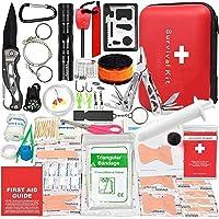 救急セット ポイズンリムーバー アウトドア 登山 防災 アドベンチャーのすべてのニーズを満たす40種類 168点山岳救助…